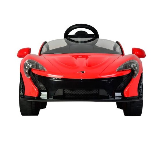 McLaren Ride On Car For Kids with Remote Control , Battery Operated McLaren P1 Rideon Car For Kids Age 2 to 6 (RED)