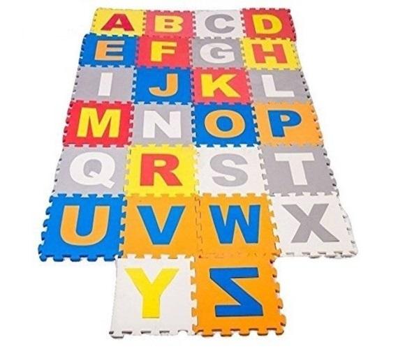 PP INFINITY LEARNING Alphabet ABC Foam Tiles (Multicolor)