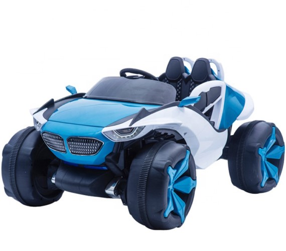 BMW 12V Battery Operated Ride On Jeep For Kids With Remote Control And Music System Model  XJL-688(Blue)