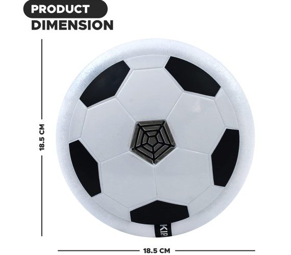 PP INFINITY Hover Football For Kids, Soccer Disk Indoor ball Toy With Light Football