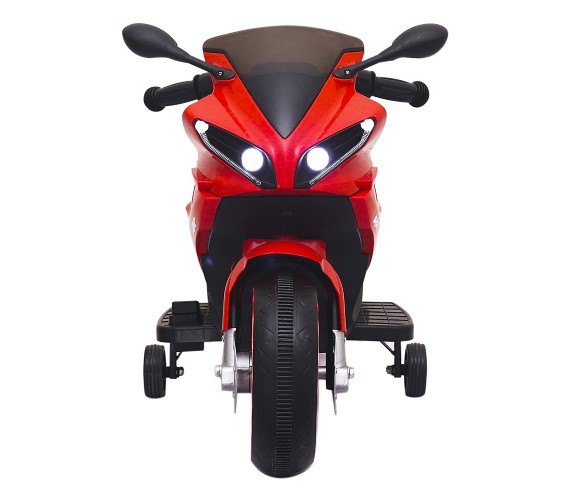 Mini R1 Battery Operated Bike For Kids (Age 2 To 5), Foot Accelerator - Bike For Kids , Red